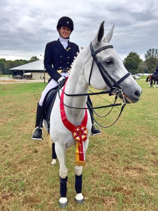 Courtney and Tess at Regionals in Georgia on 10/11/15.