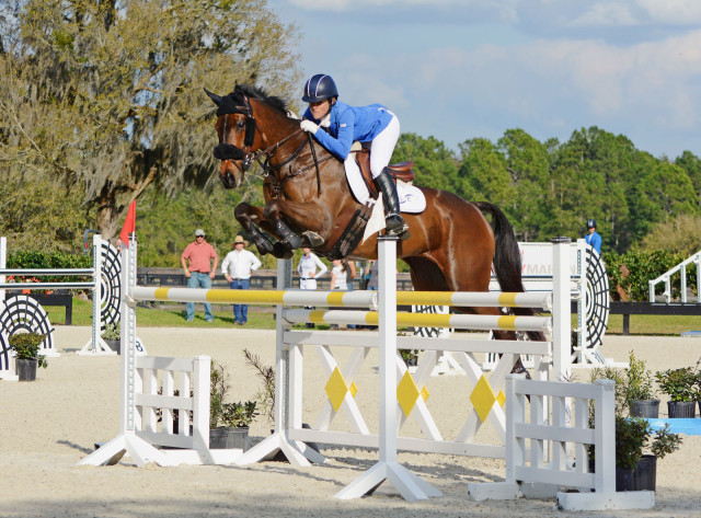 Lynn Symansky and Donner, Photo Credit Jenni Autry, Eventing Nation