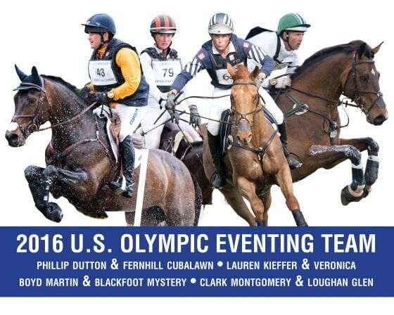 The 2016 US Eventing Team. Photo credit USEF
