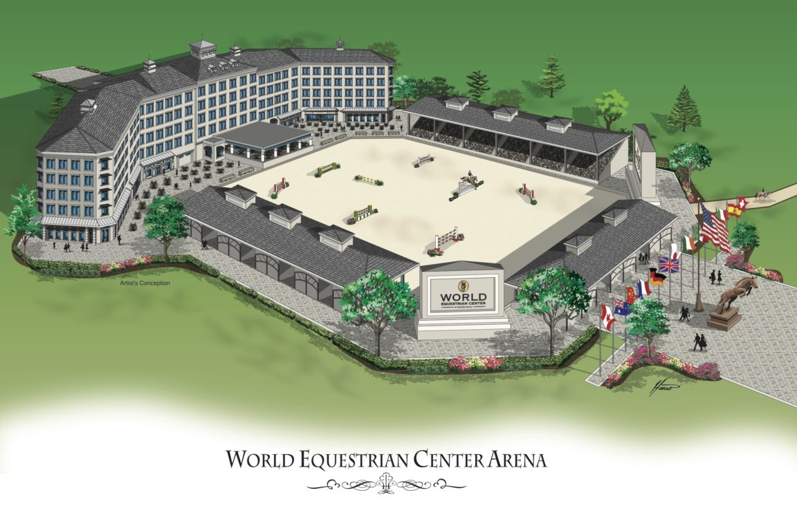 World Equestrian Center S New Arena Is Simply Amazing