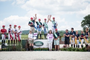 The US Nation's Cup Team Takes the Win at the Land Rover Great Meadow International.  Photo Credit USEA
