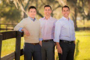 The Ocala Horse Properties Team; Matt Varney, Chris Desino, and Rob Desino