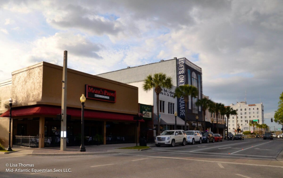 Dining Diversity In Ocala S Historic Downtown Square