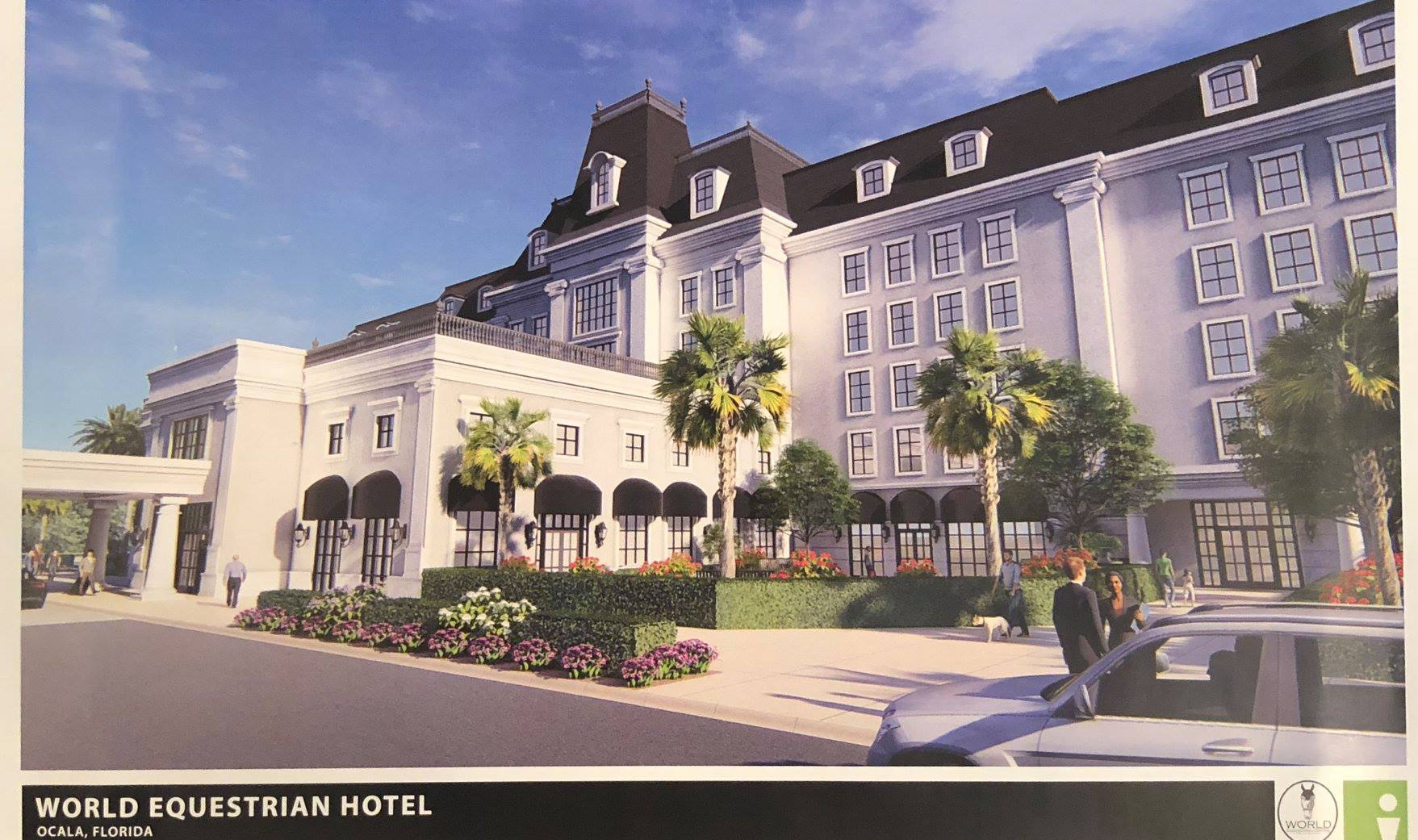 World Equestrian Center Releases Luxury Hotel Renditions